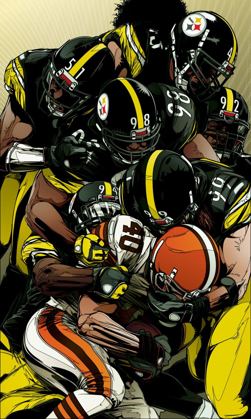 ESPN Magazine - Steelers