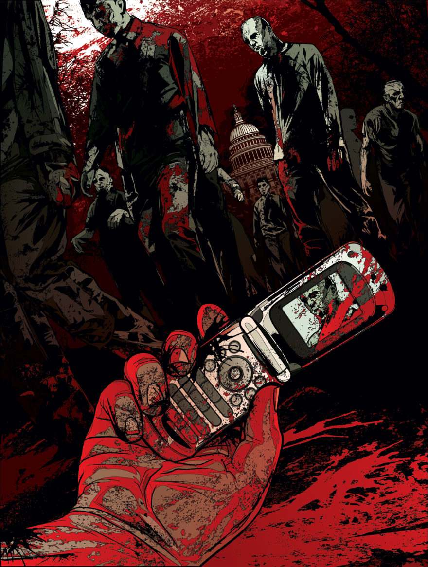 Can't remember the magazine… Zombies