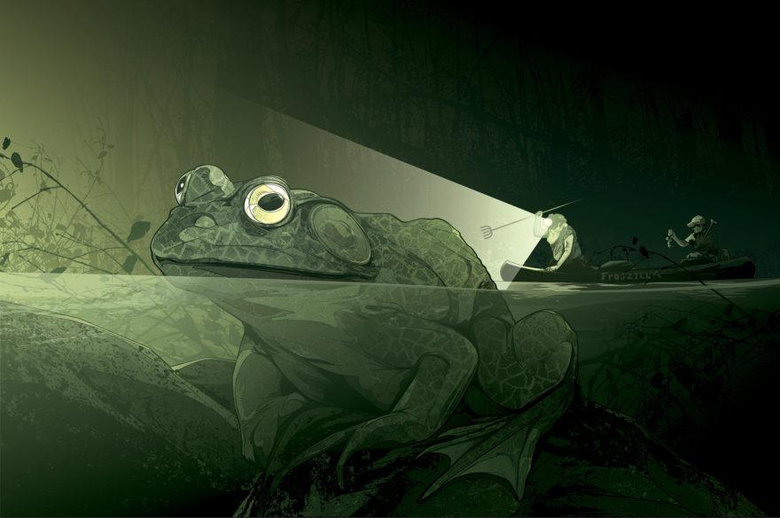Field & Stream - Bullfrogs