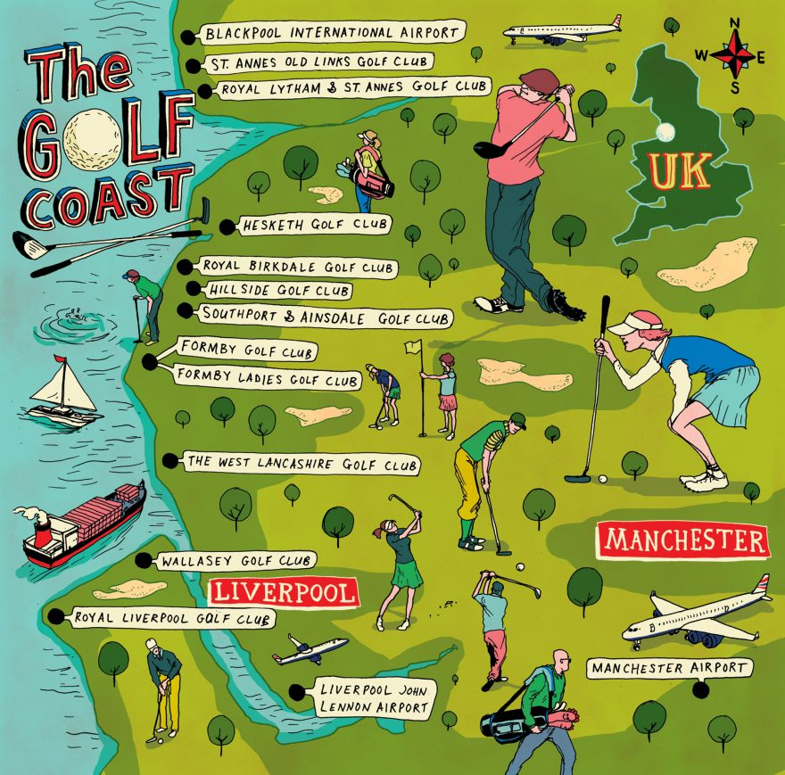 The Golf Coast