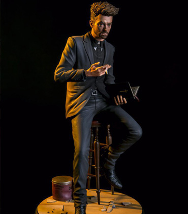 Preacher Amc Is Back - Check Out These Amazing Statues