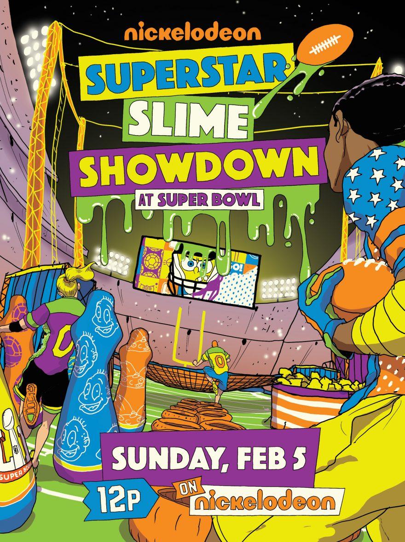 Superstar Slime Showdown At Super Bowl