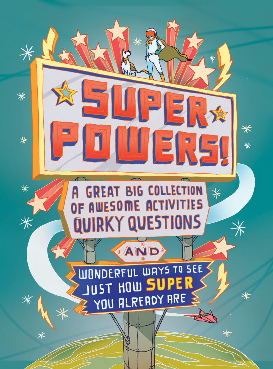 Super Powers! Cover