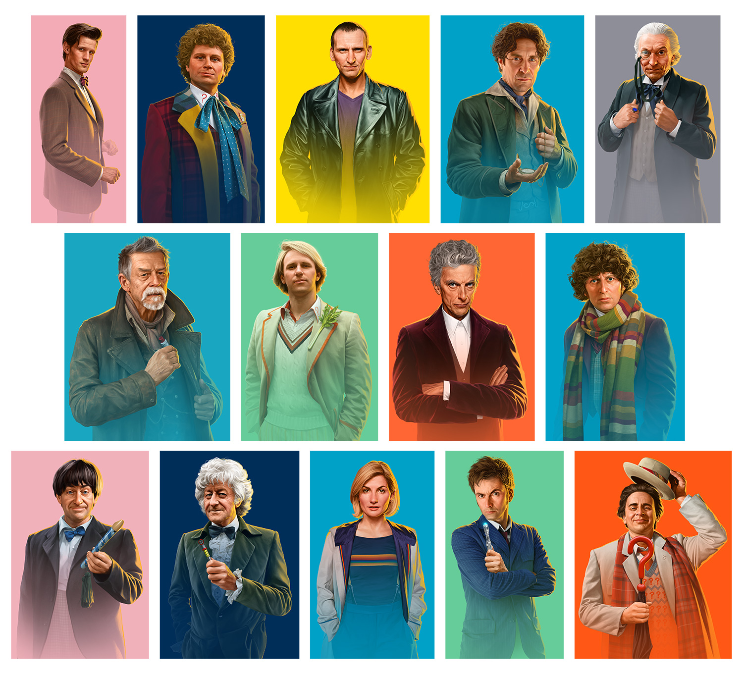 Jeremy Enecio Bbc Releases New Character Portraits Of The